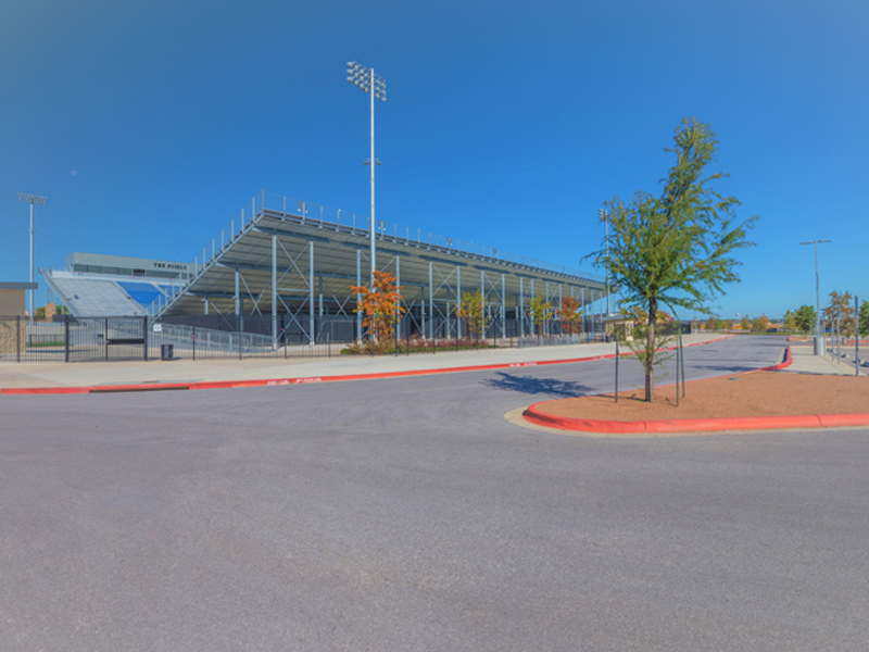 Gil Engineering Pflugerville The Pfield East Stadium Bleachers