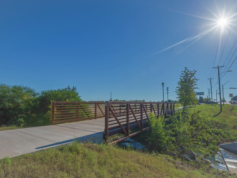 Gil Engineering Pflugerville The Pfield Pedestrian Bridge