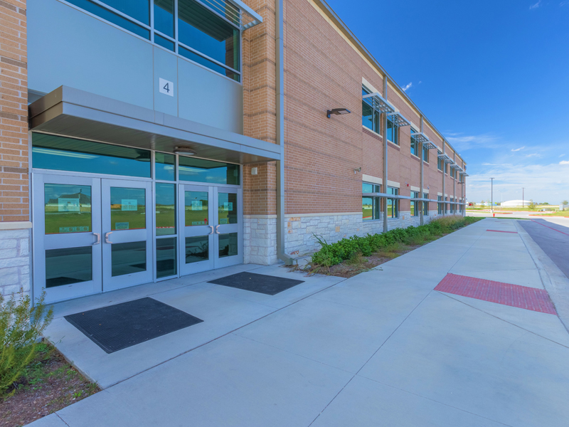 Gil Engineering Pflugerville Weiss High-School Entrance 4